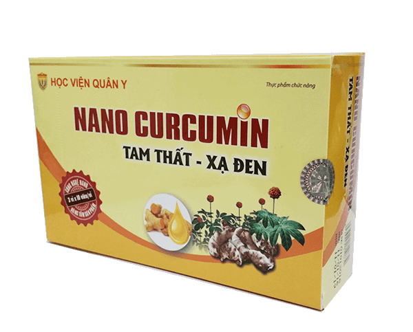 Nano Curcummin Tam Thất Xạ Đen của Học Viện Quân Y