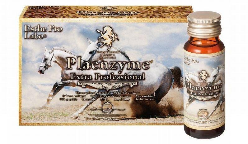 Nhau thai ngựa Plaenzyme Extra Professional dạng nước Nhật Bản