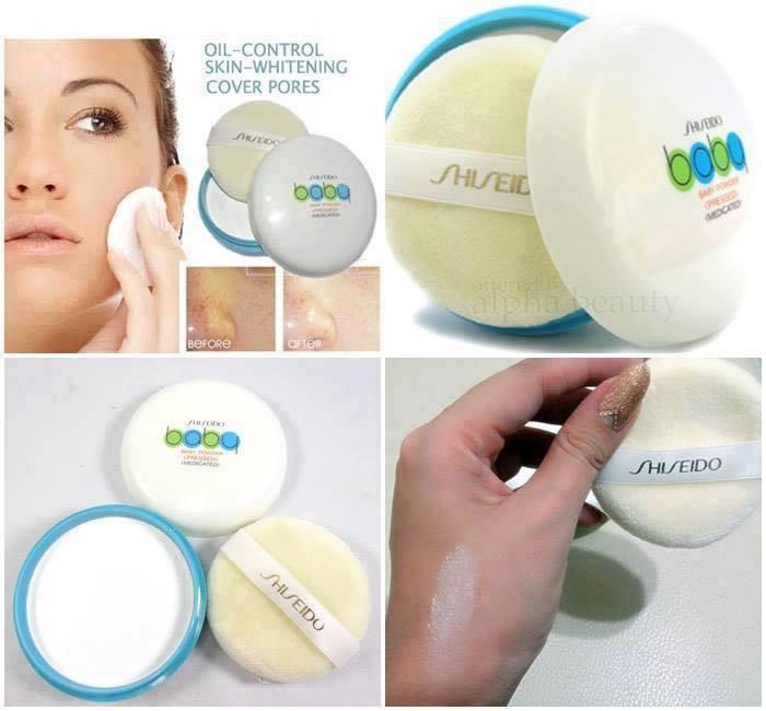 Phấn Rôm Shiseido Baby Powder