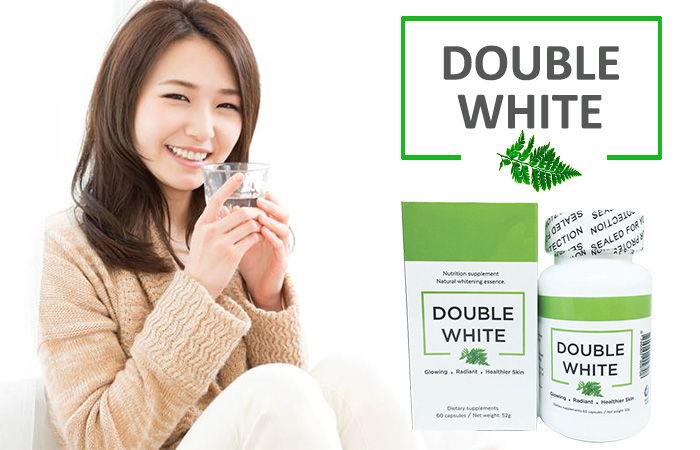 Viên uống trắng da trị nám Double White