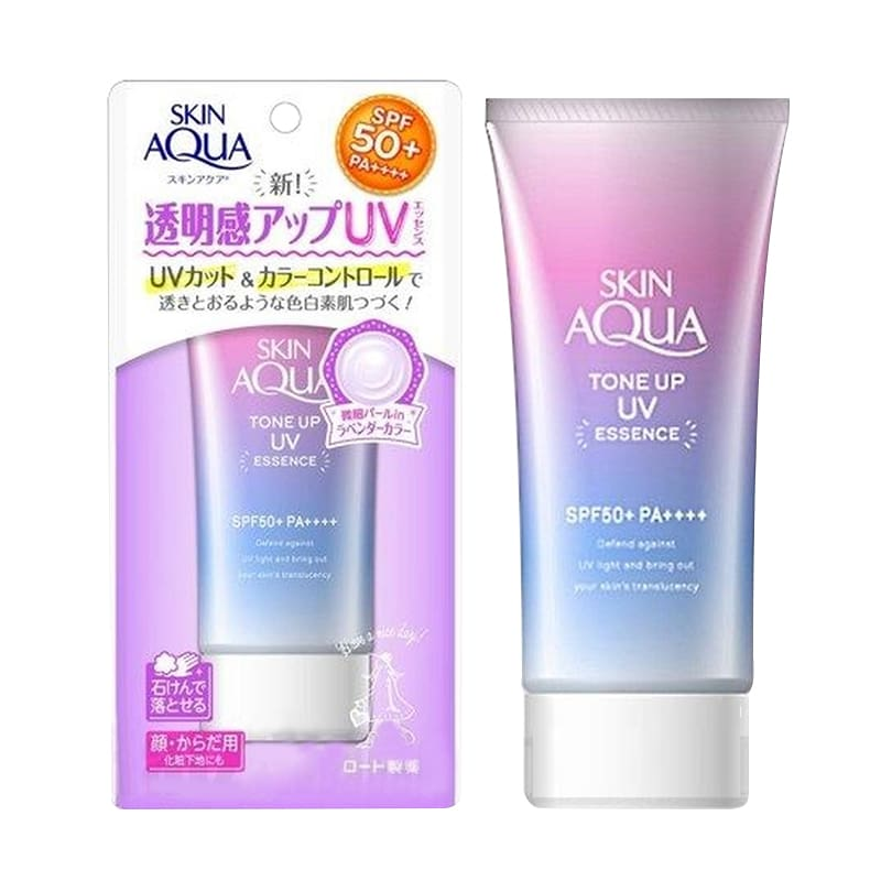Skin Aqua Tone Up UV Essence SPF 50+ PA++++ dạng bôi:
