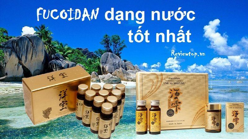 Tảo Phòng Chống Ung Thư Yoho Mekabu Fucoidan