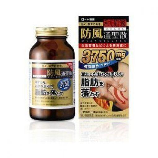 Review – 2 thuốc uống giảm cân, giảm béo bụng rohto 3750mg và 5000mg