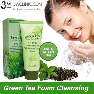 tẩy tế bào chết trà xanh green tea