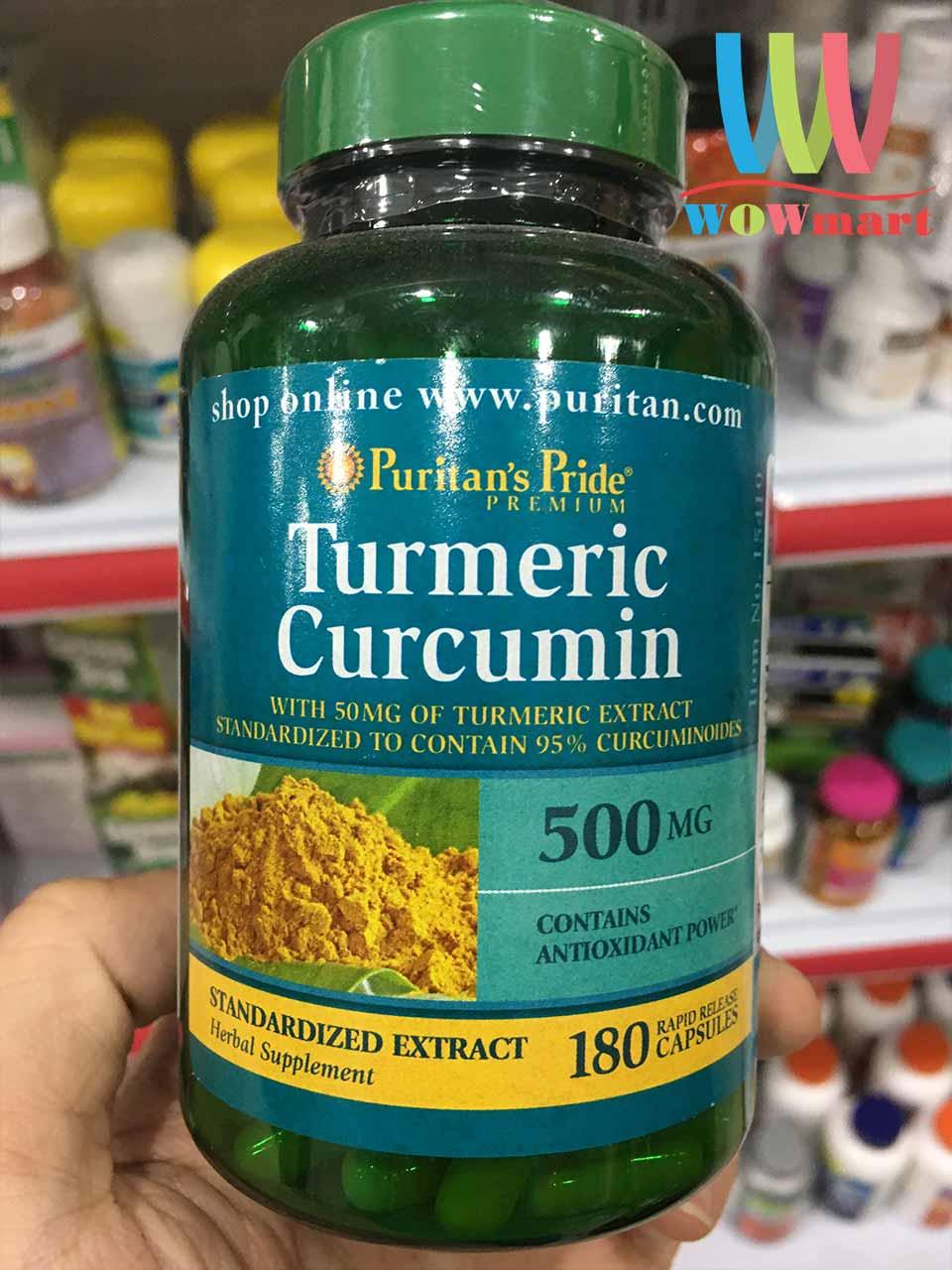 Curcumin Turmeric 500mg