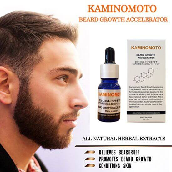 Thuốc mọc râu Kaminomoto