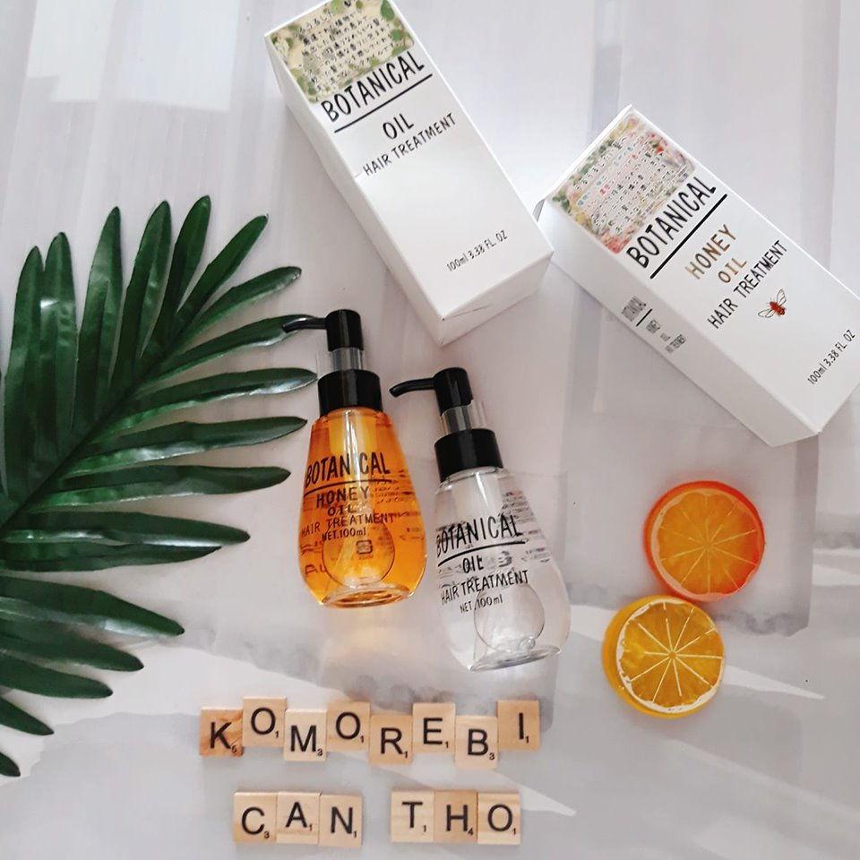Review Tinh Dầu dưỡng tóc chiết xuất thực vật Botanical