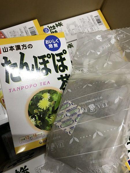 bồ công anh Tanpopo Tea