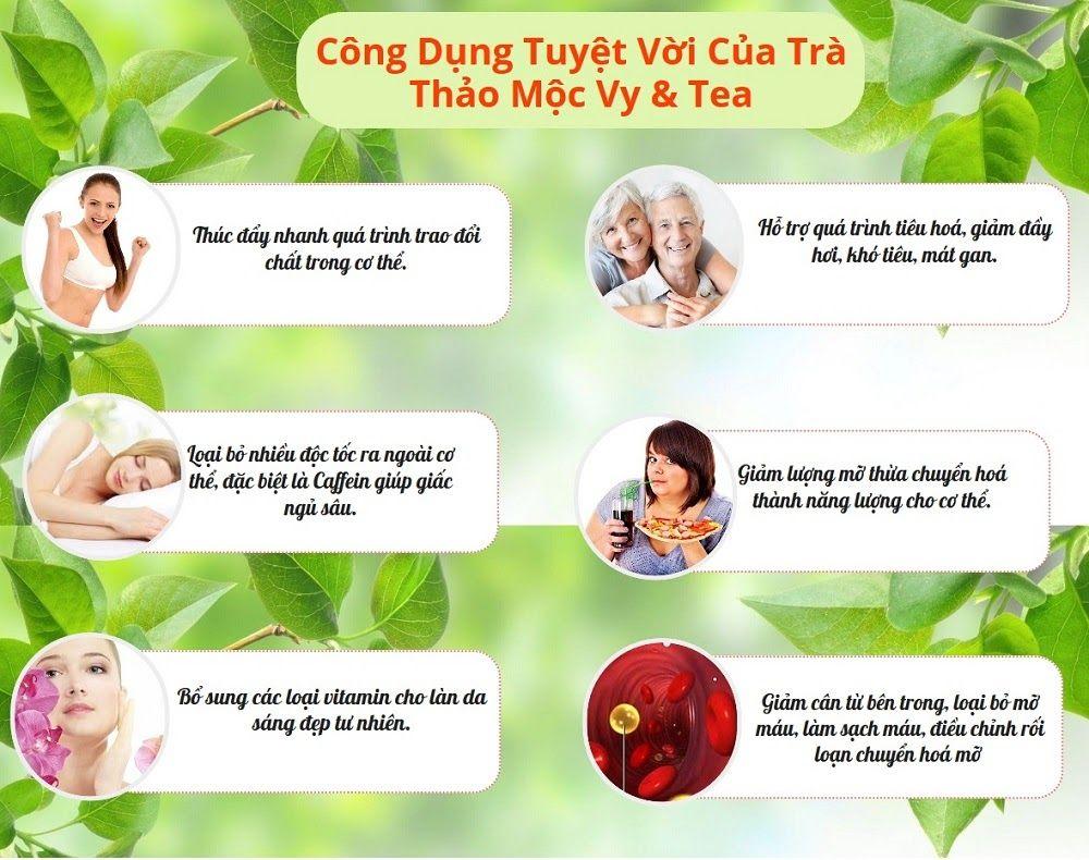của trà Vy Tea: