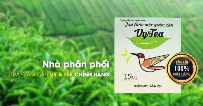 dụng của trà Vy Tea: