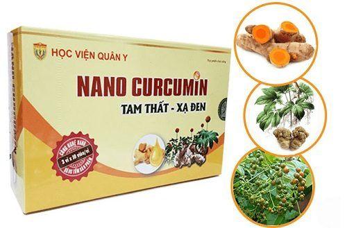 Công dụng của Nano Curcumin – Tam Thất Xạ Đen