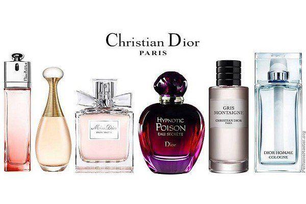 các hãng nước hoa nổi tiếng Dior