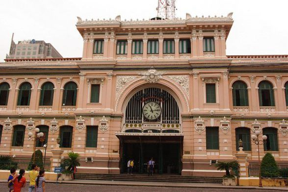 Bưu điện trung tâm Sài Gòn - Thành phố Hồ Chí Minh