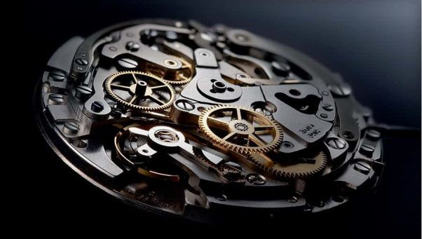 đồng hồ cơ tự lên dây cót