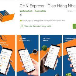 ứng dụng giao hàng GHN