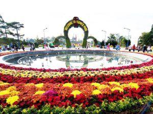 địa điểm du lịch đà lạt Vườn hoa thành phố Đà Lạt